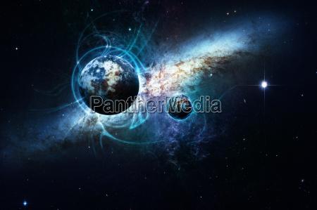 pianeti nello spazio