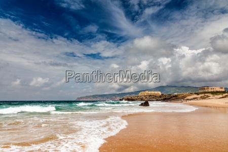 famosa spiaggia di guincho a cascais