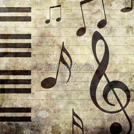 antico beige pianoforte astratto foto fotografia