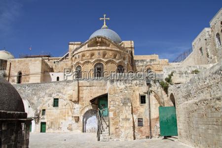 chiesa del santo sepolcro a gerusalemme