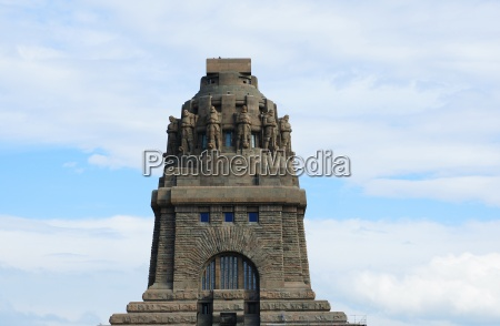 storia monumento memoriale germania leipzig scultura