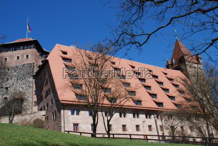 nuremberg castle kaiserstallung fuenfeckturm luginsland youth