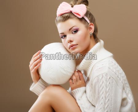 donna bello bella moda adolescente ragazzo