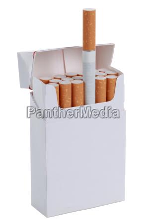 sigaretta sigarette pacchetto di sigarette scatola