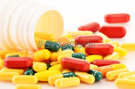 farmaci contenitore medicina pastiglia container medicazione