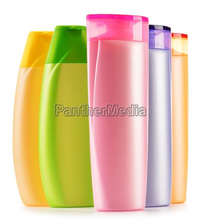 doccia bottiglia cosmetici cosmesi sapone temporale
