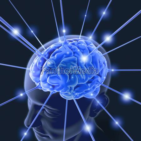impulso di energia del cervello