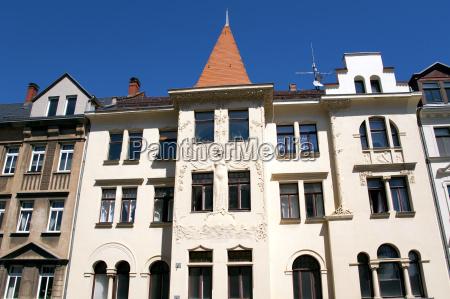 casa costruzione leipzig art nouveau edifici