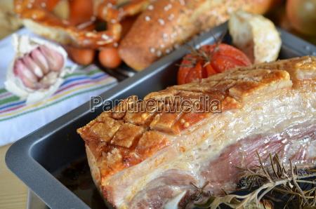 scorza carne di maiale arrosto friggere