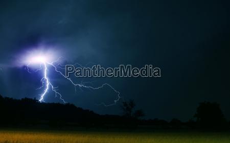 potenza elettricita energia elettrica tempesta temporale