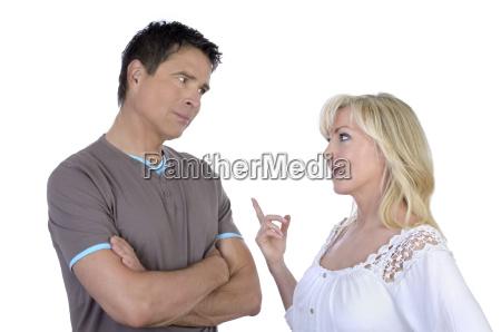 donna persone popolare uomo umano discussione