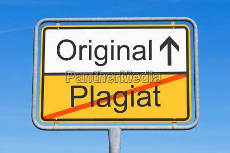 plagio e originale