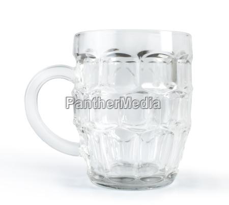mpty beer mug