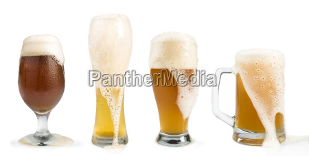 mug filled with beer