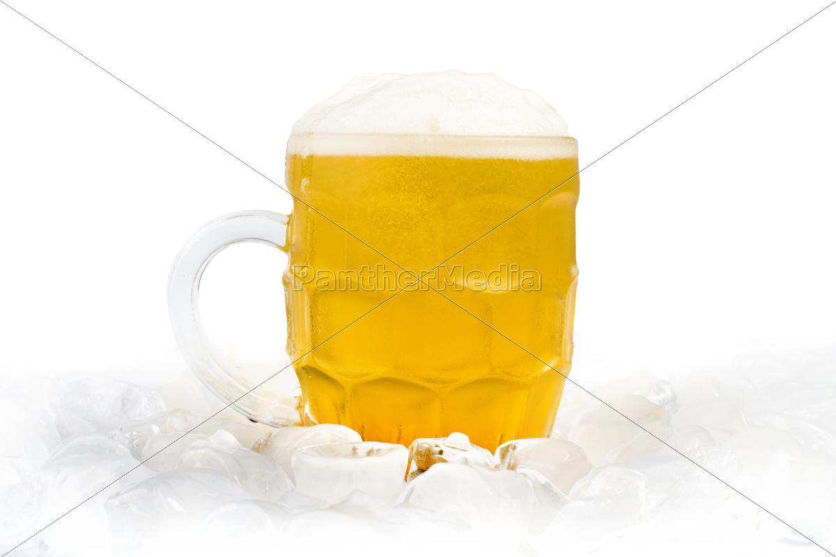 tazza, ripiena, di, birra - 9530126