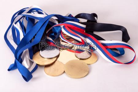 medaglie doro e dargento