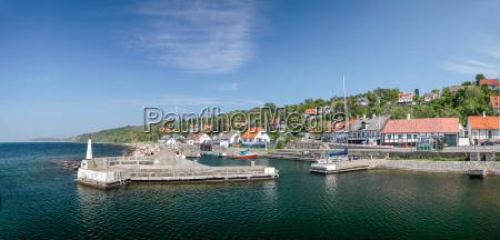 small port vang on bornholm
