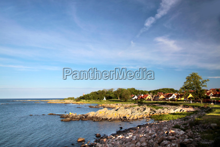 on the coast of bornholm