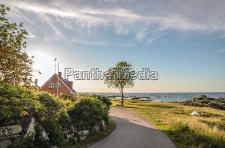 strada costiera a bornholm