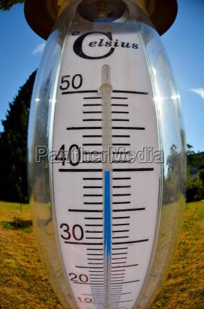 siccita calore temperatura termometro centigrado celsius