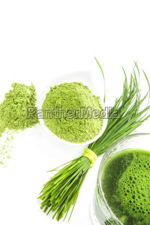 integratori alimentari naturali verdi