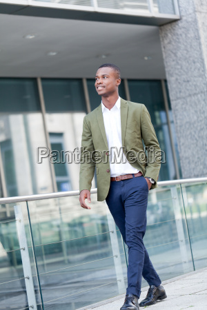 businessman young attractive successful african american