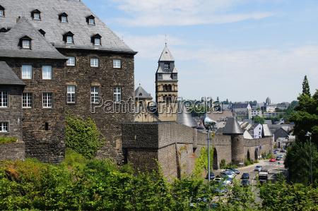 torre fortezza campanile mura germania castello