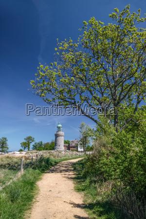 lighthouse hammeren lighthouse on bornholm