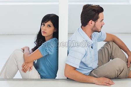 coppie di seduta sono separati da