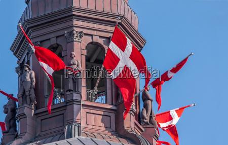 danimarca bandiere danese castello
