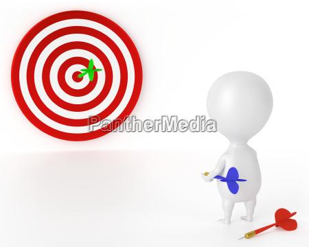target darts and character good