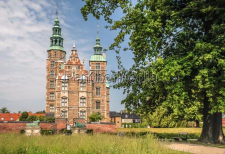 rosenborg castle in copenhagen