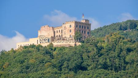 castello di hambach sulla strada tedesca