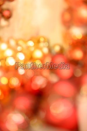 lampadine di natale scintillante sfondo rosso