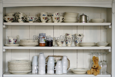 vecchio mensola della cucina