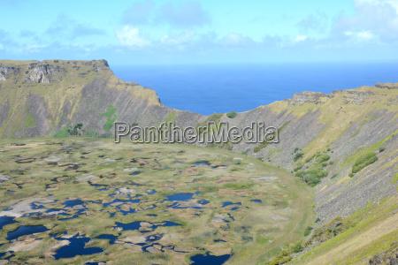 pasqua cile cratere isola di pasqua
