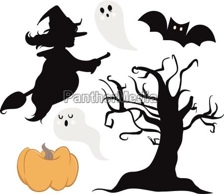collezione di halloween