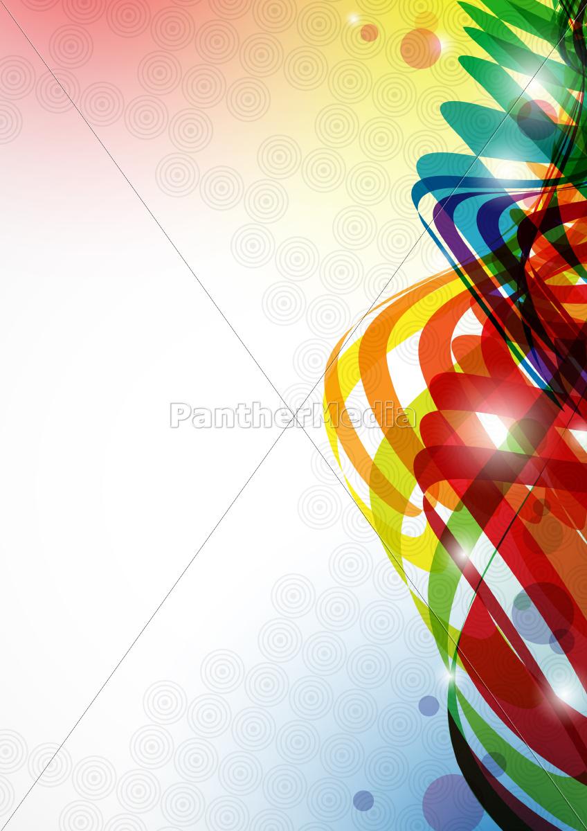 sfondo, colorato, astratto. - 10186749