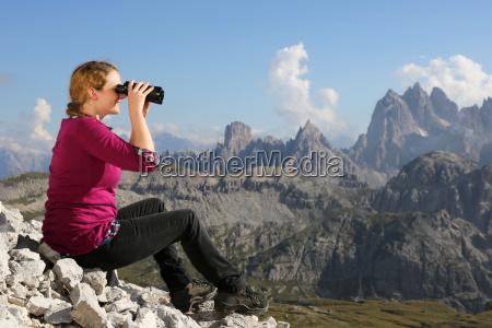 godetevi il panorama delle montagne durante