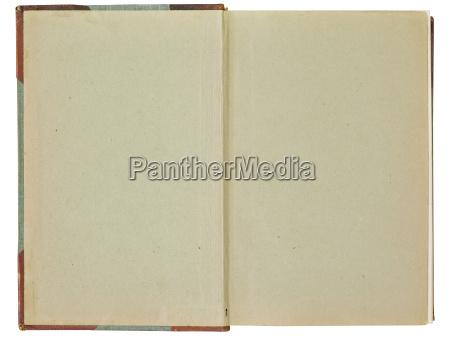 carta beige sfondo vecchio libro aperto