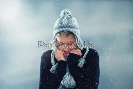 congelamento in inverno
