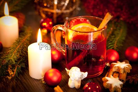 aromatico vin brule caldo con arancia