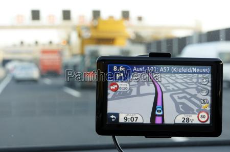 dispositivo di navigazione esterna in una