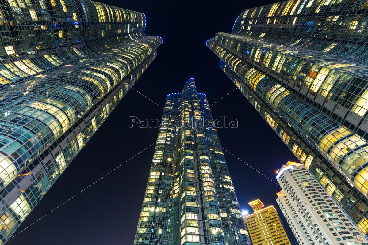 edificio, moderno, a, busan - 10308511