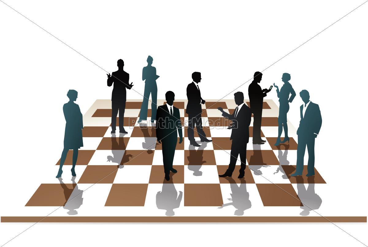 mitarbeiter, schach - 10311663