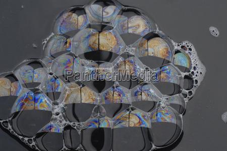 lather bolle sapone film membrana sapone