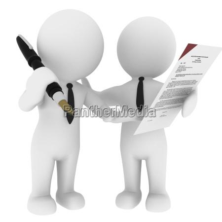 contratto vendere affare affari lavoro professione