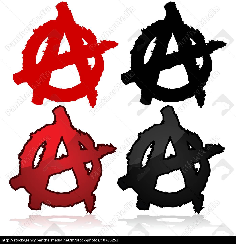 anarchy, symbol - 10765253