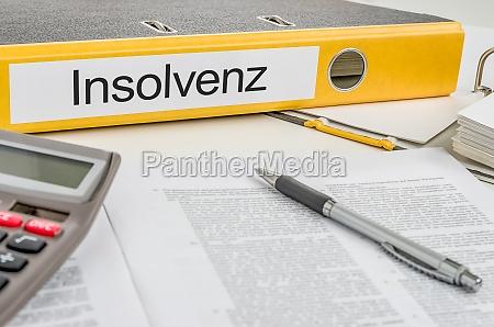 insolvenza cartelle di file etichettati