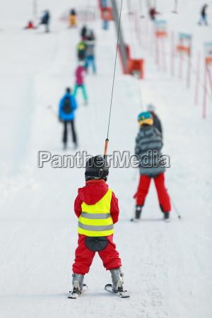 inverno skilift scuola di sci neve